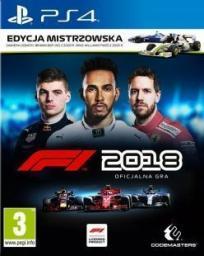F1 2018 Edycja Mistrzowska