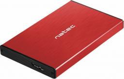 """Kieszeń Natec RHINO GO SATA 2.5"""" USB 3.0 CZERWONA (NKZ-1279)"""