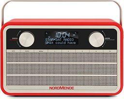 Radio Technisat Nordmende TRANSITA 120 - red - VHF - DAB plus - jack