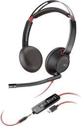 Słuchawki z mikrofonem Plantronics Plantronics Blackwire 5220 USB C