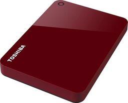 Dysk zewnętrzny Toshiba ToshibaCanvio Advance 1 TB - USB 3.0 - red