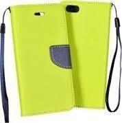GSM City Etui Fancy Book do Nokia 8 granatowo-limonkowe