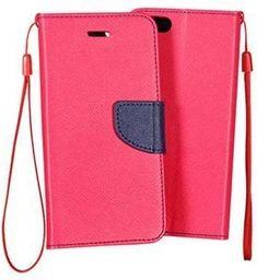 GSM City Etui Fancy Book do Nokia 8 granatowo-różowe