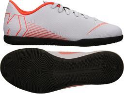 Nike Buty piłkarskie Mercurial JR Vapor 12 Club GS IC szare r. 36 1/2 (AH7354 060)