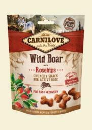 CARNILOVE Przysmak Dog Snack Fresh Crunchy Wild Boar+Rosehips 200g
