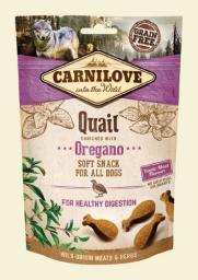 CARNILOVE Przysmak Dog Snack Fresh Soft Quail+Oregano 200g