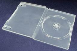 Esperanza DVD Box 1 Bezbarwny 14 mm (100 szt. - Karton) E5905784765433 - (3081)