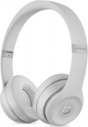 Słuchawki Apple Beats Solo3 Wireless srebrne matowe (MR3T2EE/A)