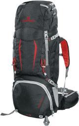 Ferrino Plecak turystyczny Overland 50+10l czarno-czerwony (F75670)