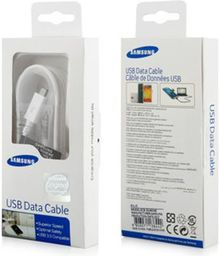 Kabel USB Samsung KABEL MICRO USB SAMSUNG ECB-DU4EWE BIAŁY RETAIL BOX