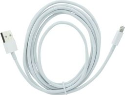 Kabel USB GSM City KABEL USB IPHONE 5 5S 6 6S 7 6PLUS 7PLUS BIAŁY 3 METRY