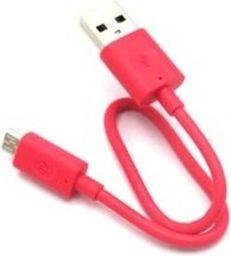 Kabel USB Nokia KABEL NOKIA MICRO USB CA-189CD BULK RÓŻOWY