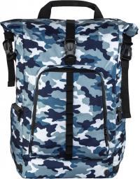 Plecak Hama ROLL-TOP 15.6'' Camouflage Niebieski
