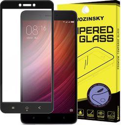Wozinsky Szkło hartowane Xiaomi Redmi 4X Wozinsky z żelową ramką na cały ekran czarny