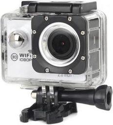Kamera GSM City KAMERA SPORTOWA A6 WIFI BIAŁA