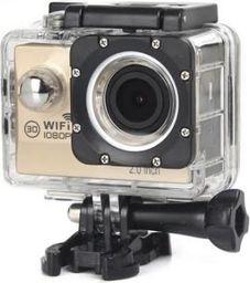Kamera GSM City KAMERA SPORTOWA A6 WIFI ZŁOTA
