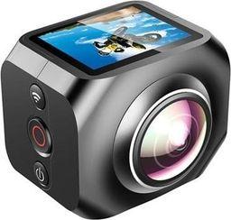 Kamera GSM City KAMERA SPORTOWA VR 360 WIFI CZARNA + PILOT 2.4G