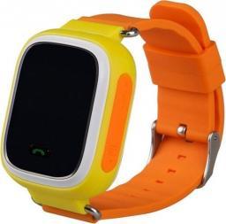 Smartwatch GSM City Q60 Żółty  (4544-uniw)