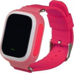 Smartwatch GSM City Q60 Różowy  (4542-uniw)