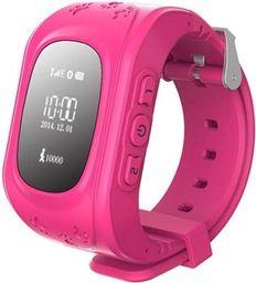 Smartwatch GSM City Q50 Różowy  (4536-uniw)