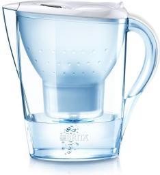 Dzbanek filtrujący Brita Marella XL MXplus biała + butelka