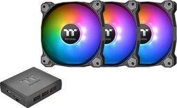 Thermaltake Wentylator Pure Plus 12 RGB TT Premium 3-pak (3x120mm, 500-1500 RPM) -CL-F063-PL12SW-A