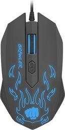 Mysz Natec Fury Brawler NFU-1198 1600 DPI dla graczy, podświetlenie