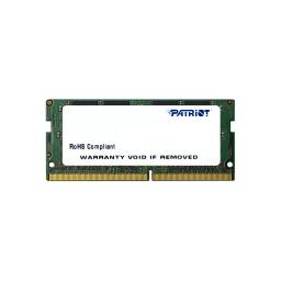 Pamięć do laptopa Patriot  Signature SODIMM DDR4,  4GB,  2133MHz,  CL15 (PSD44G213382S)