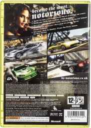 Gra Xbox 360 NEED FOR SPEED MOST WANTED CLASSICS (wersja BOX; DVD; ENG; od 12 lat)