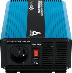 Przetwornica AZO Digital Przetwornica napięcia 12 VDC / 230 VAC SINUS IPS-1200S 1200W