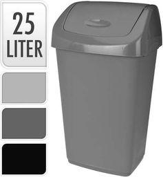 Kosz na śmieci uchylny 25L 3 kolory (KOO000485)