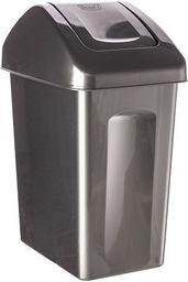 Kosz na śmieci Branq uchylny 25L antracyt perła (BRA000062)