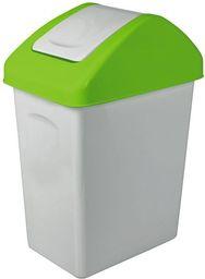 Kosz na śmieci Branq do segregacji uchylny 25L zielony (BRA000146)