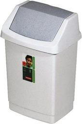 Kosz na śmieci Curver Click-It uchylny 25L granit (CUR000107)
