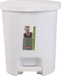 Kosz na śmieci Curver na pedał 25L biały (CUR000205)