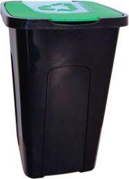 Kosz na śmieci Keeeper do segregacji 50L zielony (GRE000170)