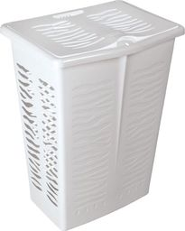 Kosz na pranie Branq Zebra 42L biały (BRA000130)