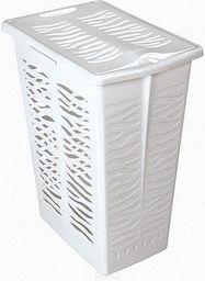 Kosz na pranie Branq Zebra 30L biały (CLO000251)