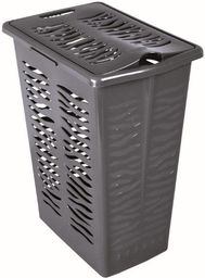 Kosz na pranie Branq Zebra 30L antracyt (BRA000035)