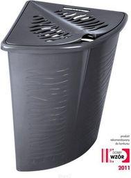 Kosz na pranie Branq Zebra 45L antracyt (BRA000065)
