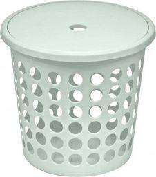 Kosz na pranie Plast Team Medium 45L biały (TEA000285)