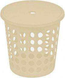 Kosz na pranie Plast Team Medium 45L kremowy (TEA000141)