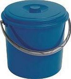 Curver Wiadro 12l Z Pokrywą Niebieskie 235239 CURVER