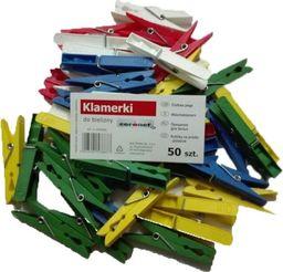 Coronet Klamerki plastikowe 50szt 3902005 Coronet