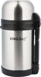 KingHoff Termos obiadowy 600ml srebrny (KH-4076)