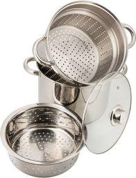 KingHoff Garnek do makaronu i gotowania na parze 24cm (KH-3326)