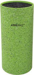 KingHoff Stojak na noże z powłoką marmurową zielony (KH-1094)
