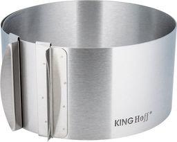 KingHoff REGULOWANA TORTOWNICA FORMA OBRĘCZ DO TORTÓW KINGHOFF KH-4614