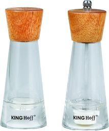 KingHoff MŁYNEK DO PIEPRZU I SOLNICZKA KINGHOFF KH-4680