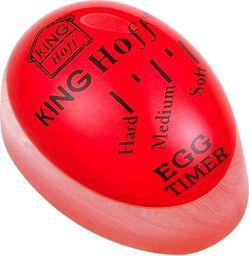 Minutnik KingHoff mechaniczny Jajko czerwony (KH-1015)